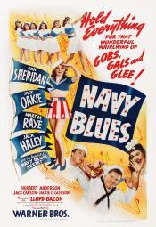 Navy Blues Us Poster From Left: Ann Sheridan Jack Haley Jack Oakie Martha Raye On Midget Window Card 1941 Movie Poster Masterprint EVCMCDNABLEC002HLARGE