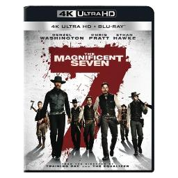 Magnificent seven (2016/blu-ray/4k-ultra hd/ultraviolet/2discs) BR48091