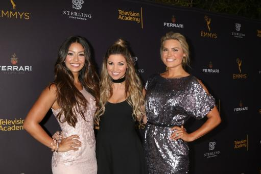 Manuela Arbelaez, Amber Lancaster, Rachel Reynolds At Arrivals For Television Academy 68Th Daytime Emmy Awards Reception, Television Academy'S.