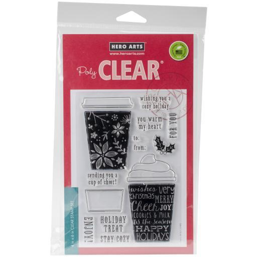 Hero Arts Clear Stamp & Die Combo-Coffee Cup 7YV5FOKZTCCDQPMY