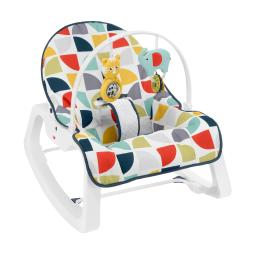 Fisher-price deluxe infant-to-toddler rocker - colorful pinwheels gdp60