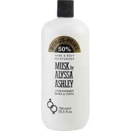 ALYSSA ASHLEY MUSK by Alyssa Ashley BODY LOTION 25.5 OZ (Package Of 6)