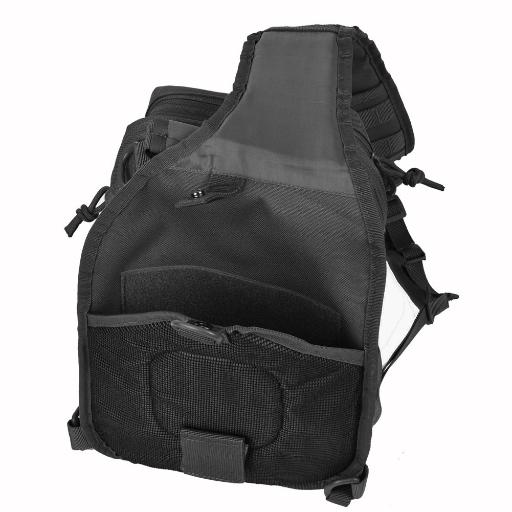 REEBOW GEAR Tactical Sling Bag Pack Military Rover Shoulder, black, Size No Size