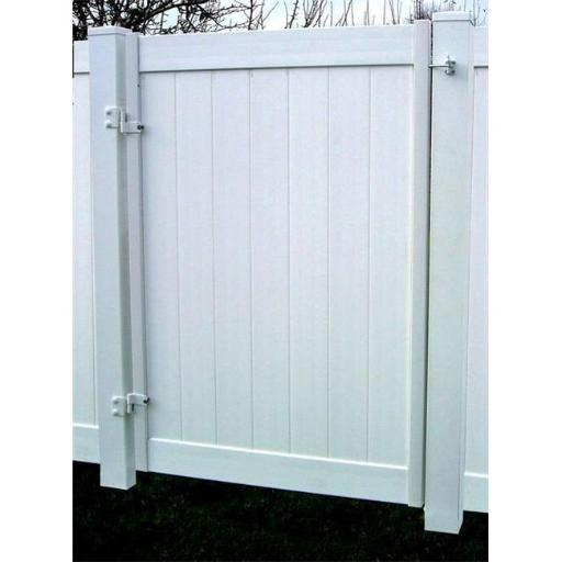 Adjust-A-Gate II Privacy Solid Board Fence Gate Frame-