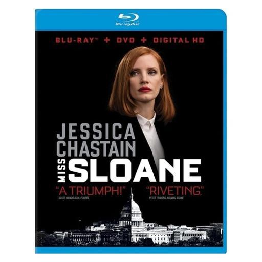 Miss sloane (blu-ray/dvd/digital hd) 9SQJ0MZGTJQQVVDH