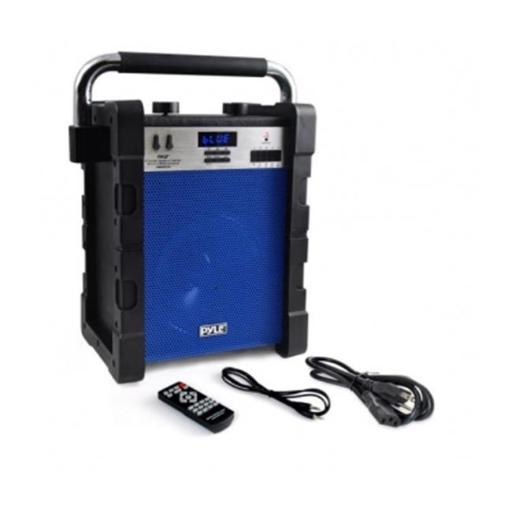 Sound Around Pyle Industries PWMABT550BL Bluetooth Wireless Rugged & Portable Speaker System with Built-in Rechargeable Battery