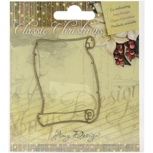 Find It Trading Amy Design Classic Christmas Die Scroll