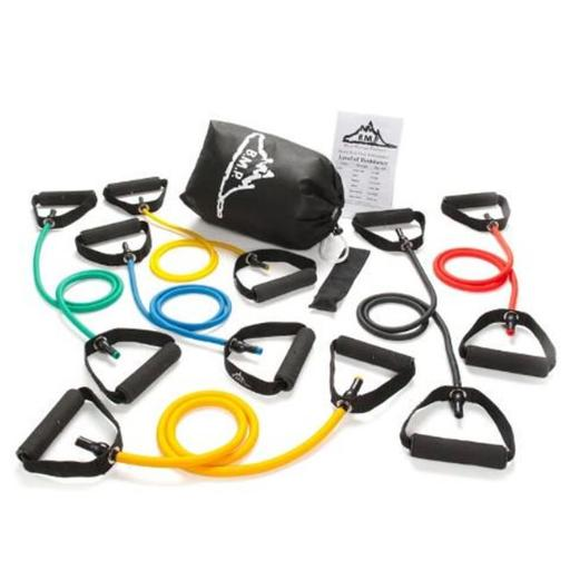 Black Mountain Products BMP 6L 6 Resistance Bands Set