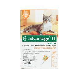 Advantage Orange-10-4 Advantage Flea Control For Cats 1-9 Lbs 4 Month Supply