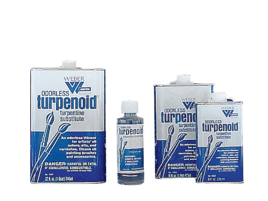 Weber odorless turpenoid w1681 4oz