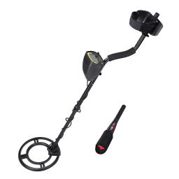 Yescom LCD Metal Detector Kit with Pinpointer Pin pointer Sensitive Search Treasure Hunter Gold Digger