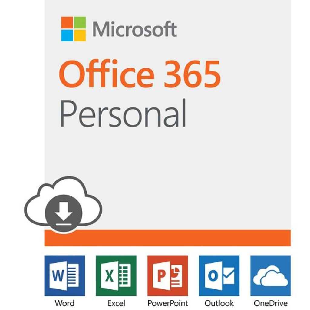 Microsoft Office 365 Personal   12-month subscription, 1 person, PC/Mac Download