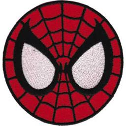 "Spiderman Patch-Spiderman Mask 3"" P-SPI-21"