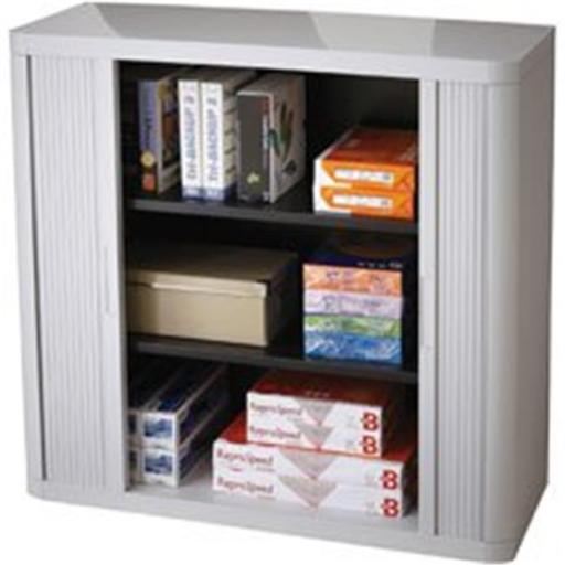 Paperflow Usa PPR366014192352 Gray 41 in. Storage Cabinet Top & Back - Gray