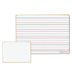 Dowling Magnets DO-72500025 12 x 8.75 in. Magnetic Dry-Erase Lined & Blank Board