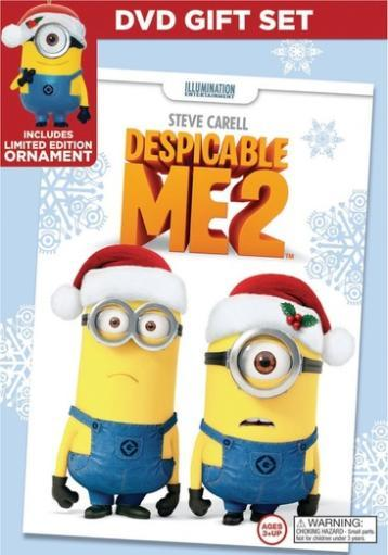 Despicable me 2 (dvd) (limited edition holiday gift set)