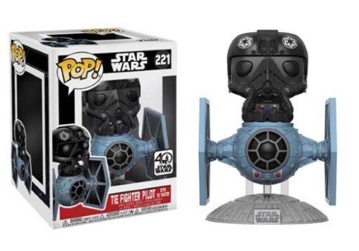 Pop! deluxe: tie fighter pilot with tie fighter MCFHJ5A9OTCAHDMD