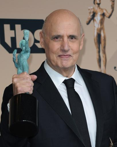 Jeffrey Tambor, Outstanding Performance By A Male Actor In A Comedy Series For Transparent In The Press Room For 22Nd Annual Screen Actors Guild.