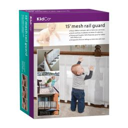 Kidco s305 white kidco mesh rail guard white 180 x 0.1 x 33