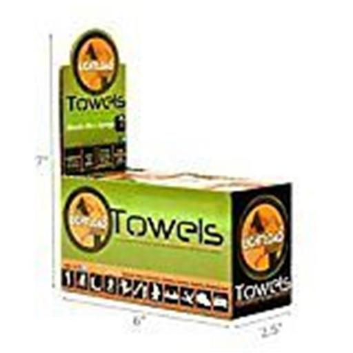 Lightload Towels extra strength 50 small 12 x 12 in. Extra Strength Towel Display Box - 50 Piece