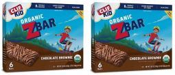 Clif Kid Organic Z Bar Chocolate Brownie 2 Box Pack