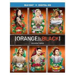 Orange is the new black season 3 (blu ray w/digital hd) (3discs) BR48712