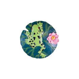Spoontiques 05090 9 stepping stone  frog