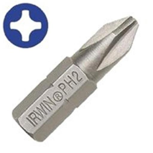 Irwin Industrial 35104725 No.2 Phillips Drywall Bit - 1 In.