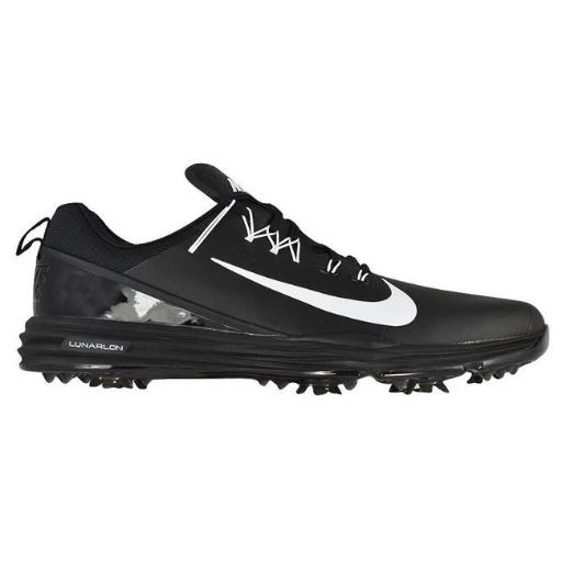 Nike Golf 849968-002-9.5 9.5 in. Nike Lunar Command 2 Golf Shoe - Black, Medium