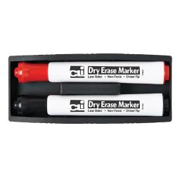 Charles leonard magnetic whiteboard eraser with two 74532