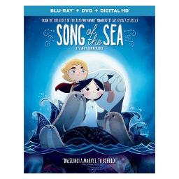 SONG OF THE SEA (BLU RAY/DVD W/DIGITAL HD) 25192286957