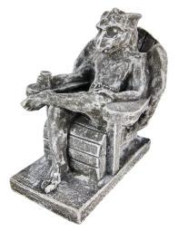 Beach Bum Gargoyle Concrete Statue Vacation Chill