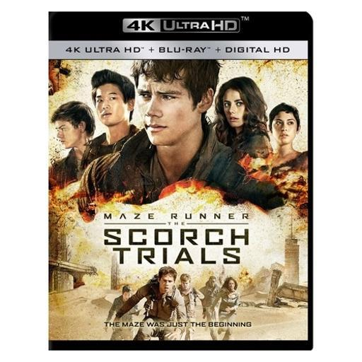 Maze runner-scorch trials (blu-ray/4k-uhd) YJX1BCEDWPKSJOUW
