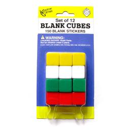 Koplow games inc blank dice with stickers set of 12 17586