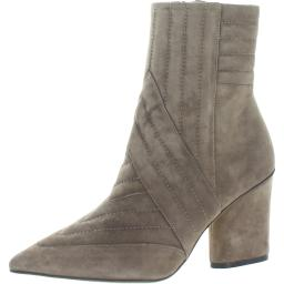 Donald J. Pliner Womens Galyn Suede Pointed-Toe Mid-Calf Boots