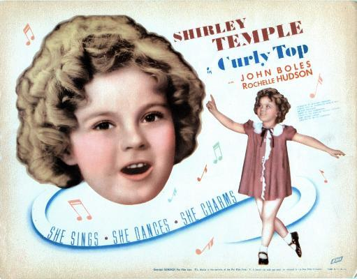 Curly Top Us Poster Shirley Temple 1935 Tm And Copyright 20Th Century Fox Film Corp. All Rights Reserved. 4UT6LQJGD2J46LDU