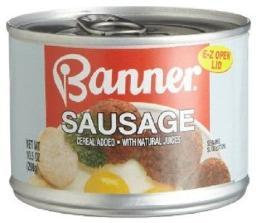 Banner Sausage 10.5 oz Can