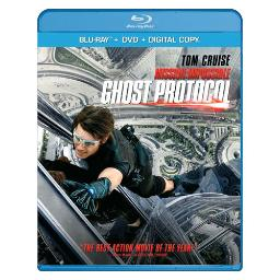 Mission impossible 4-ghost protocol (2 disc/br/dvd/dc/uv) BR146714