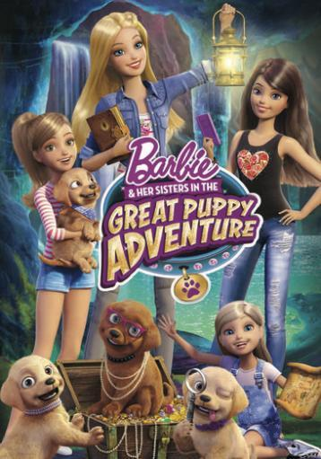Barbie & her sisters in the great puppy adventure (dvd) N9V3HZ0GACFMPBQR