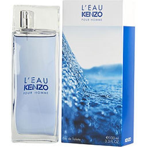 Kenzo Leau Kenzo By Kenzo For Men - 3.3 Oz Edt Spray  3.3 Oz KENZO Leau Kenzo By Kenzo For Men - 3.3 Oz Edt Spray  3.3 oz - New - Kenzo