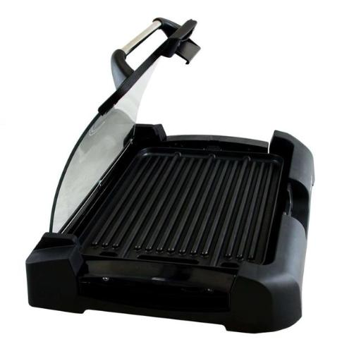 MegaChef MCG-106 Reversible Indoor Grill And Griddle With Removable Glass Lid