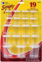 Simply Art Storage Cups 19/Pkg-Assorted Sizes S1021078