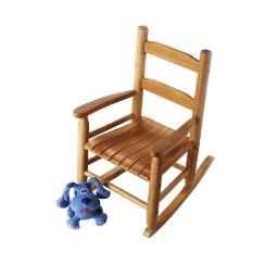 Lipper 555p childs rocking chair pecan