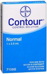 Contour Blood Glucose Control Solution Normal - 0.083 Oz