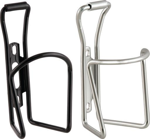 ACTION BULK 25 BLACK/25 SILVER WBOTTLE CAGE