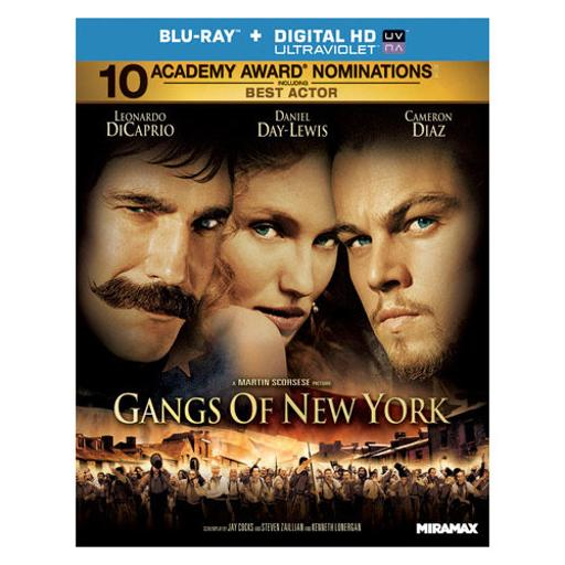 Gangs of new york (blu ray)(ws/eng/eng sub/fr/sp sub/5.1 dts-hd/uv dig copy B8LMWRRW3YNLRKHU