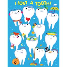 Creative teaching press i lost a tooth chart 6429