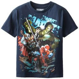 Marvel Comics Big Boys' Downforce Licensed Graphic T-Shirt