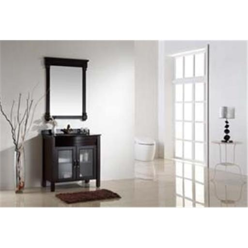 Dawn Kitchen RAC302232-05 Solid Wood And Plywood In Walnut Finish Wood Stands Cabinet And Two Doors With Shelf Inside