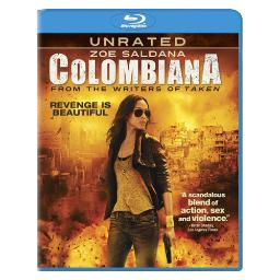 Colombiana (blu ray) (dol dig 5.1/2.35/eng/french(parisian) BR38940